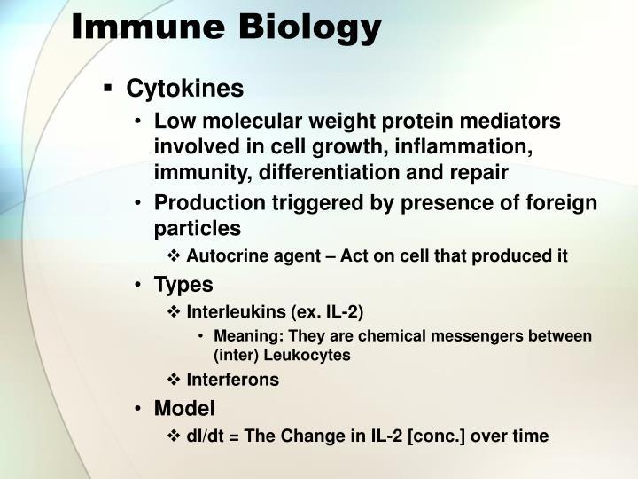 Immune Biology