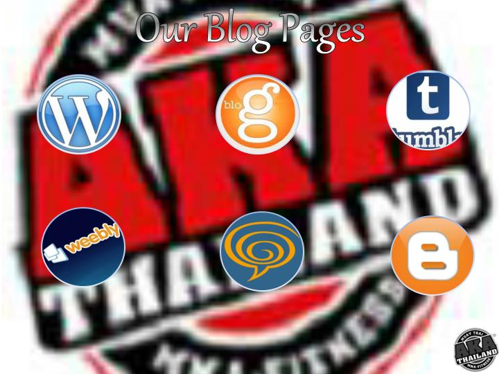 Our Blog Pages