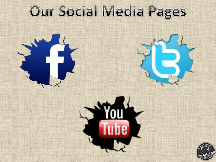 Our Social Media Pages