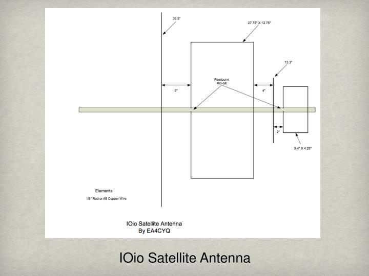 IOio Satellite Antenna