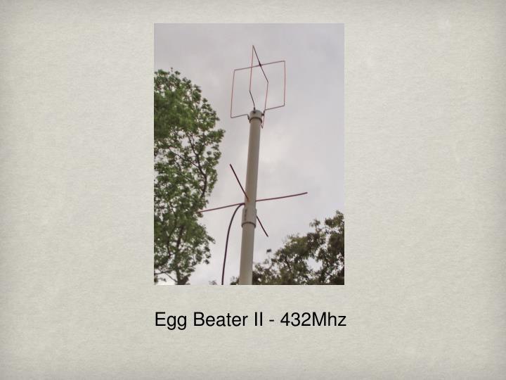 Egg Beater II - 432Mhz
