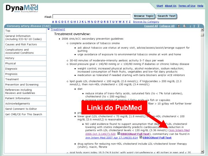 Linki do PubMed