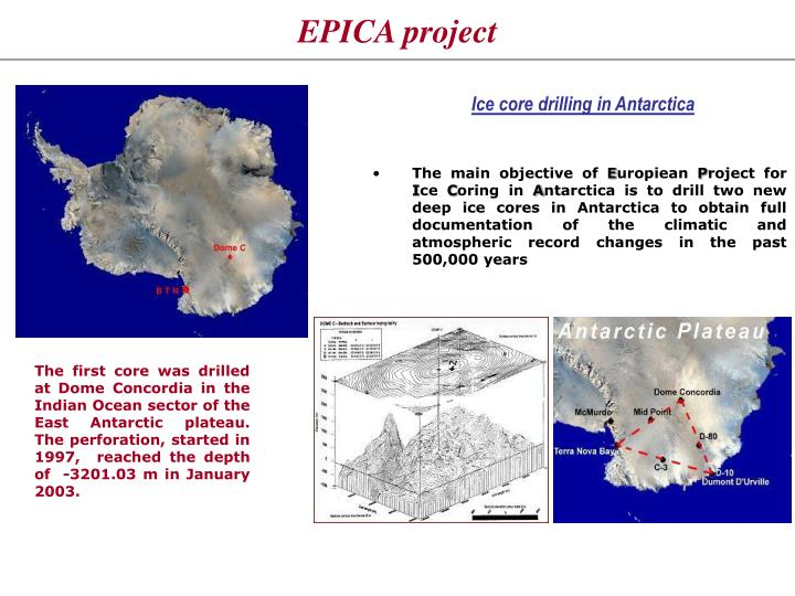 EPICA project