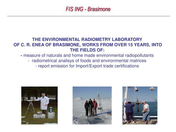 FIS ING - Brasimone