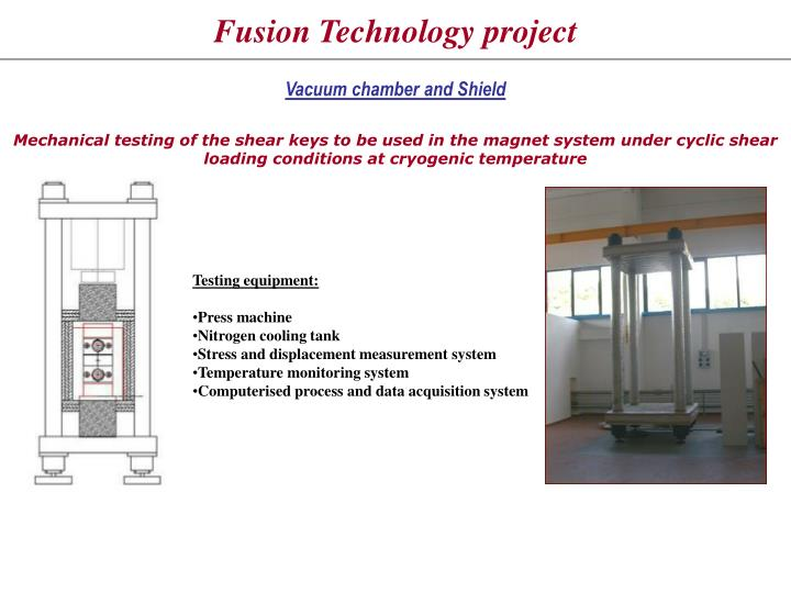 Fusion Technology project