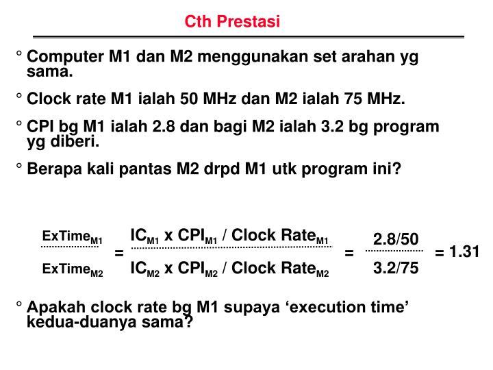 Cth Prestasi