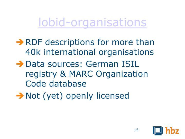 lobid-organisations
