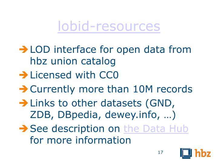 lobid-resources