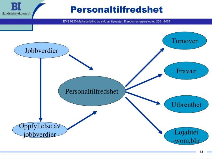 Personaltilfredshet