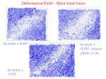 deformation field shear band forms