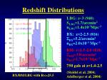 redshift distributions2