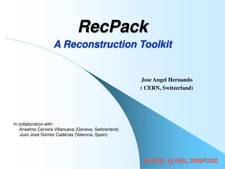 RecPack