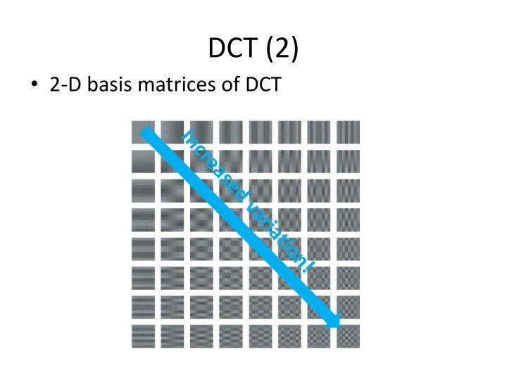DCT (2)