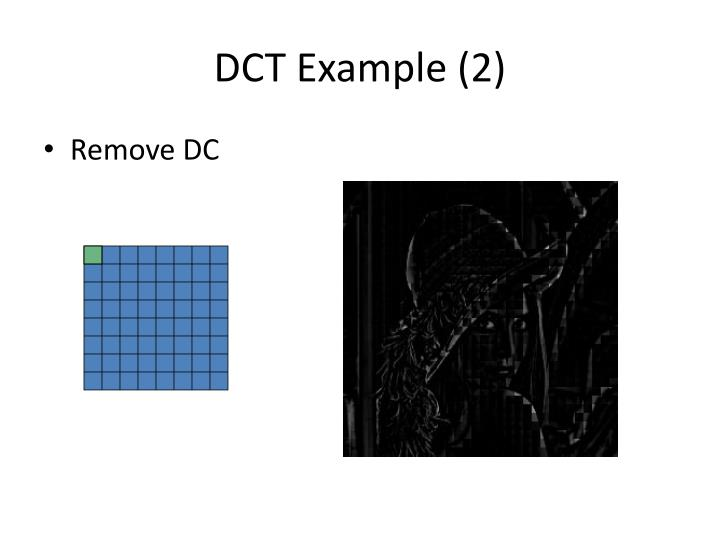 DCT Example (2)