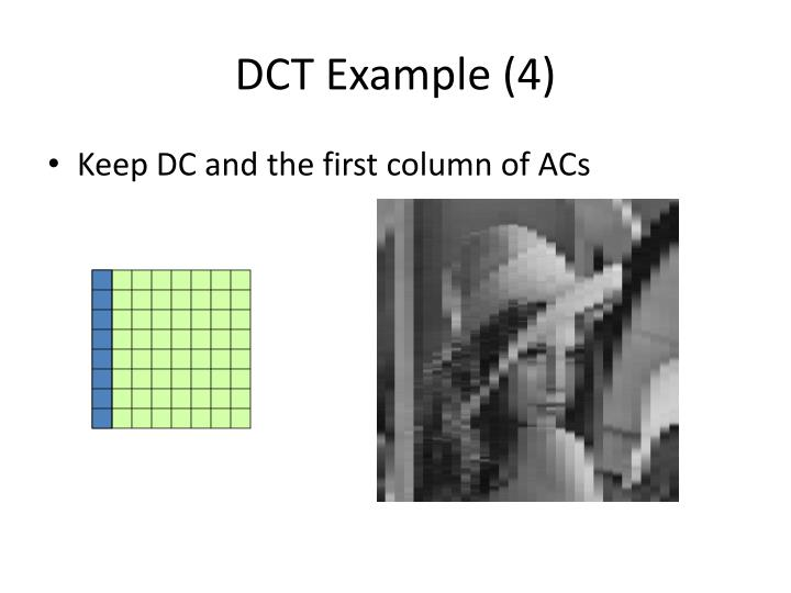 DCT Example (4)