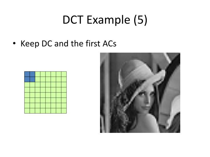 DCT Example (5)