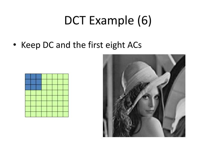 DCT Example (6)