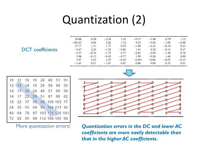 Quantization (2)