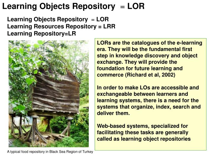 Learning Objects Repository