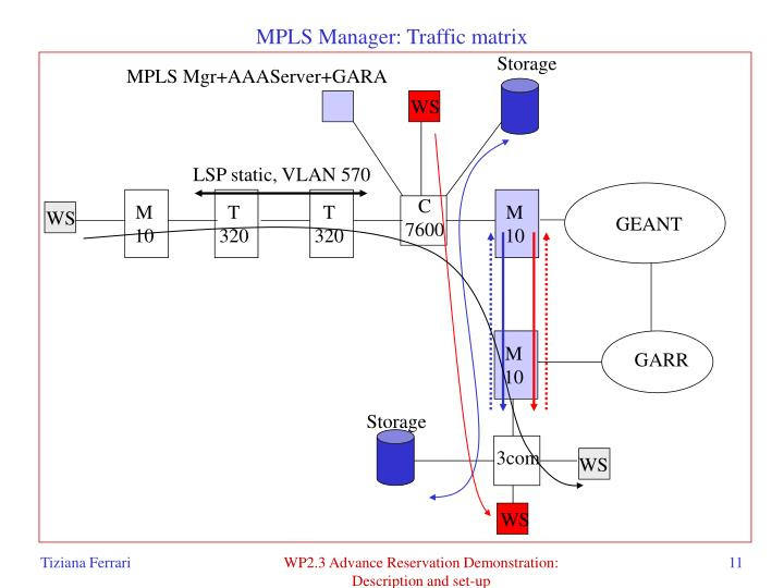 MPLS Manager: Traffic matrix