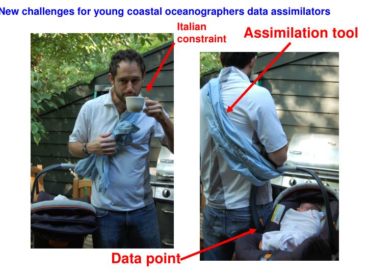 New challenges for young coastal oceanographers data assimilators