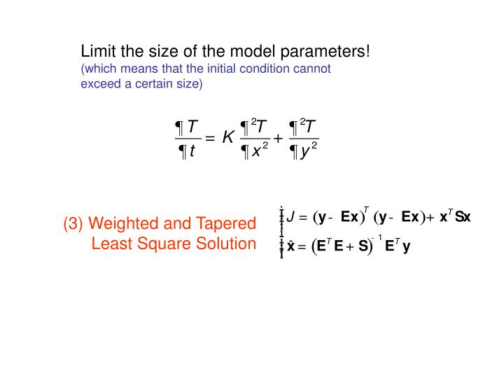 Limit the size of the model parameters!