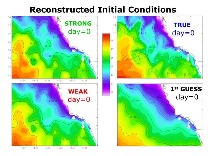 Reconstructed Initial Conditions