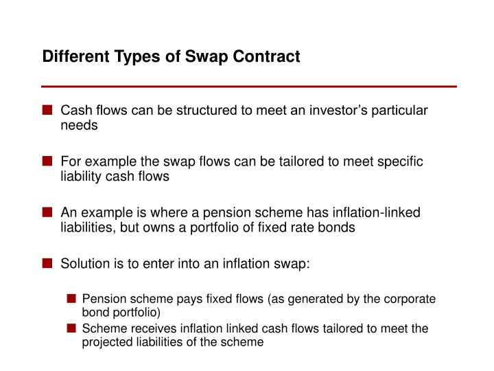 Cash flows can be structured to meet an investor's particular needs