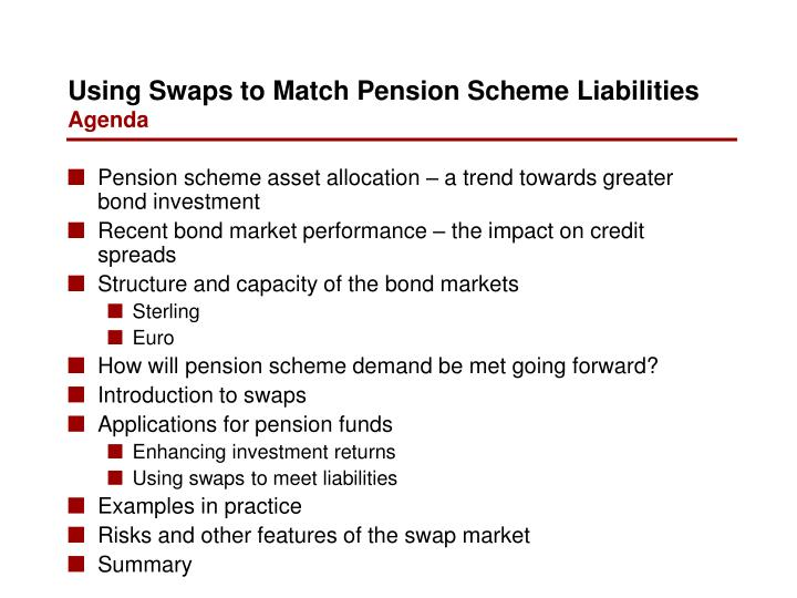 Pension scheme asset allocation – a trend towards greater bond investment