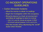 co incident operations guidelines2