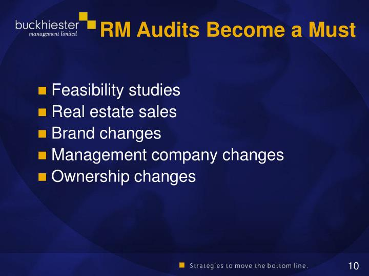 RM Audits Become a Must