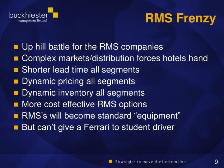 RMS Frenzy