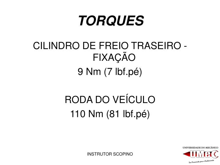 TORQUES