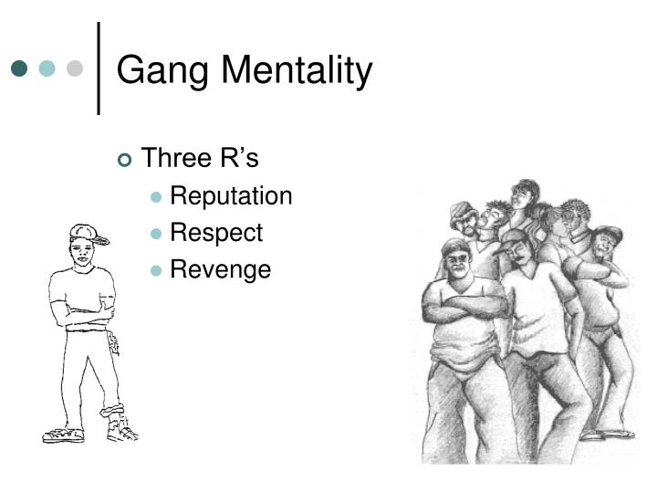 Gang Mentality