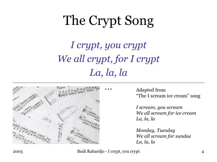 The Crypt Song