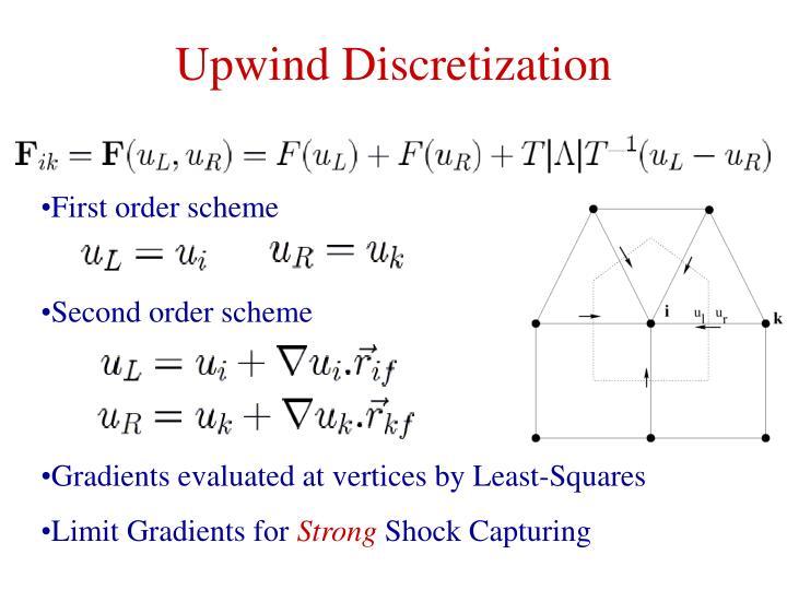 Upwind Discretization