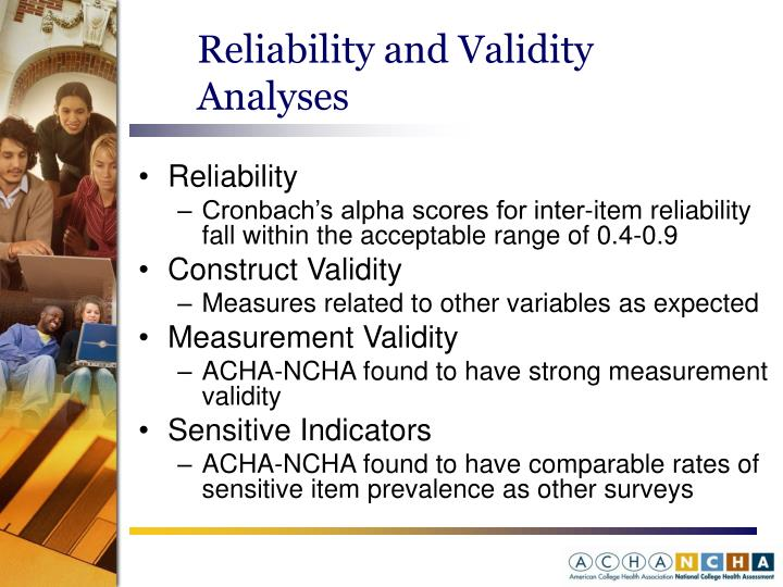 Reliability and Validity Analyses