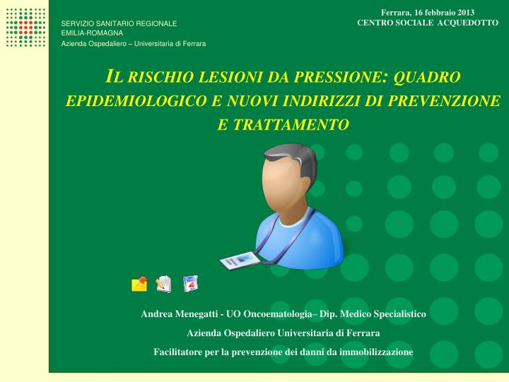 Ferrara, 16 febbraio 2013
