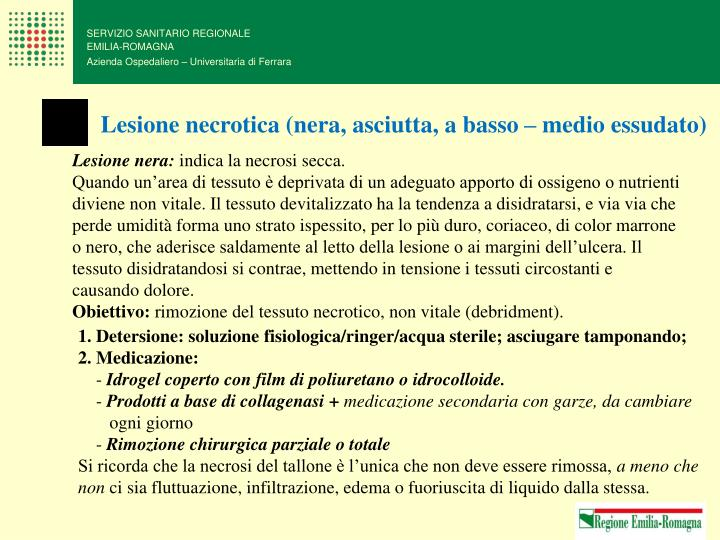 SERVIZIO SANITARIO REGIONALE