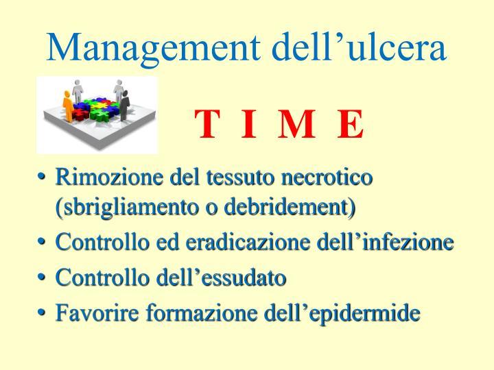 Management dell'ulcera