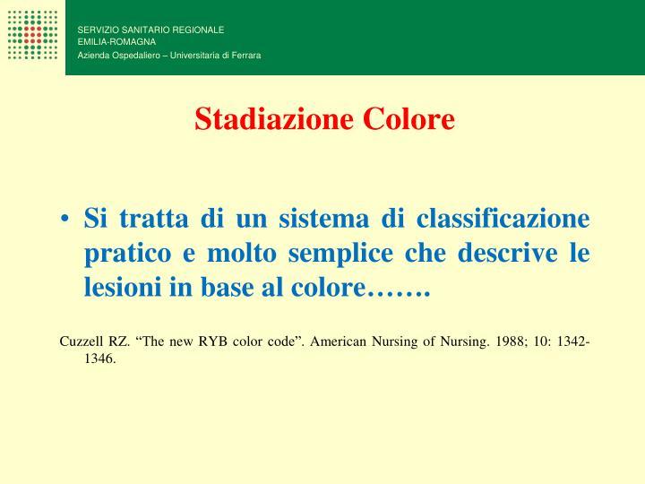 Stadiazione Colore