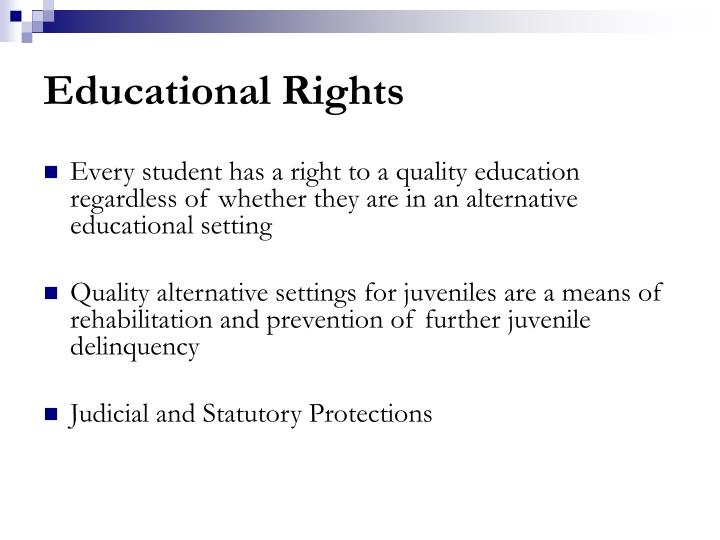 Educational Rights