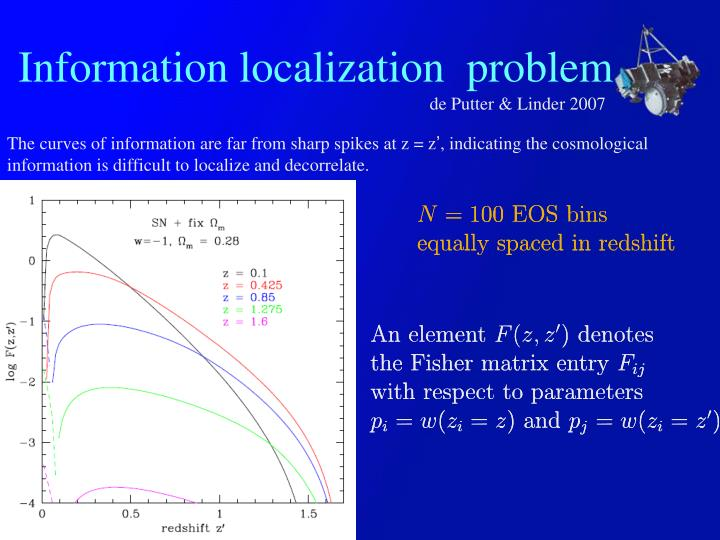Information localization  problem