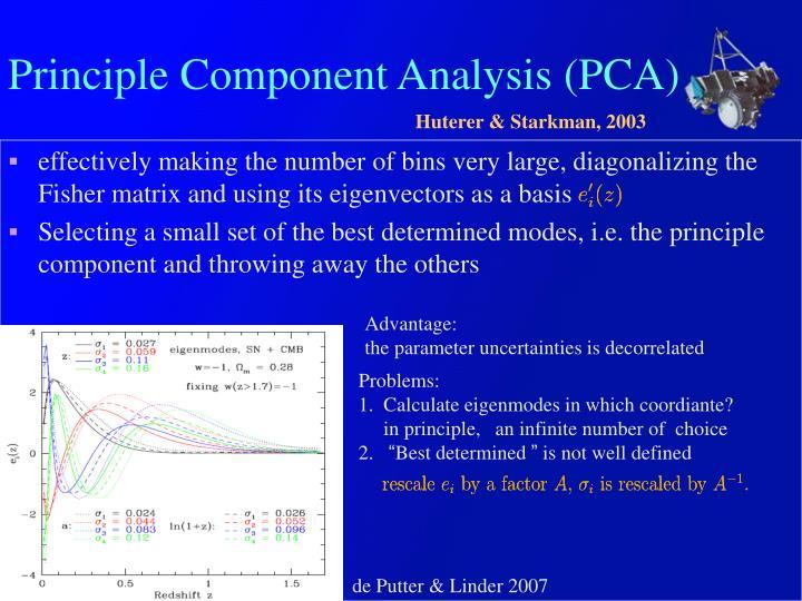 Principle Component Analysis (PCA)