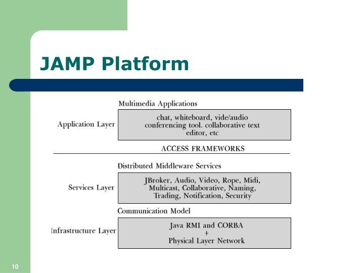 JAMP Platform