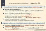 b classes g n riques sp cialiser arraylist e1