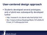 user centered design approach3