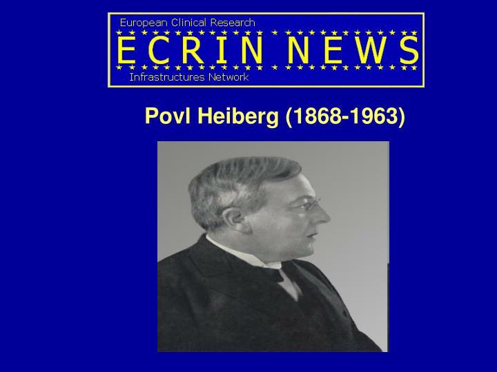 Povl Heiberg (1868-1963)