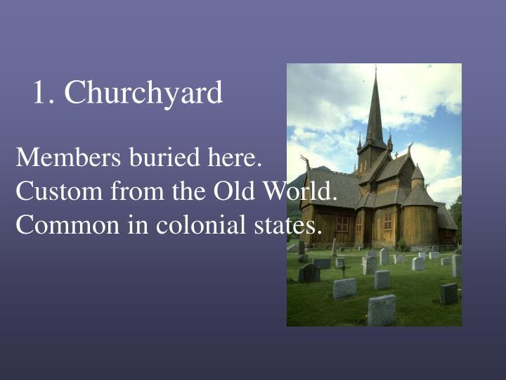 1. Churchyard