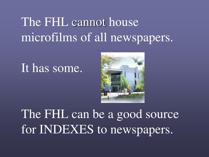 The FHL